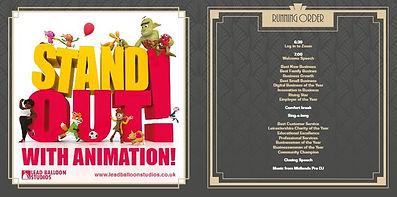 Niche Business Awards 2020 Brochure Lead Balloon Studios