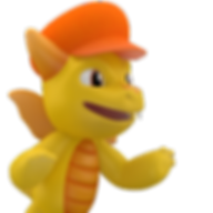 CapDragon 3D Mascot