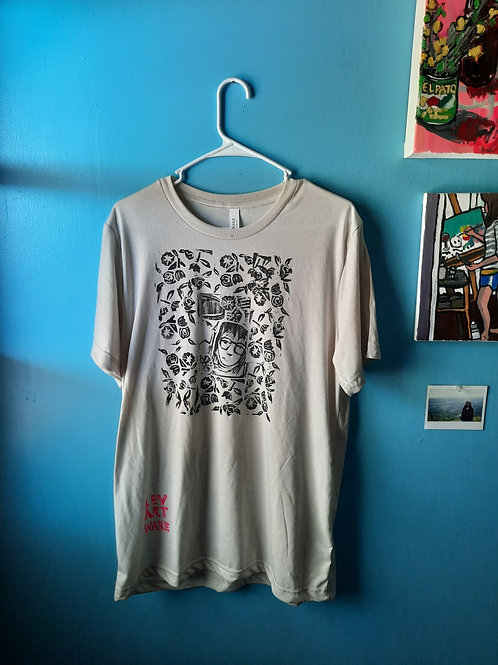 Women and Flowers Tee