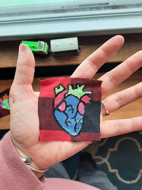 Anatomical Heart Patch