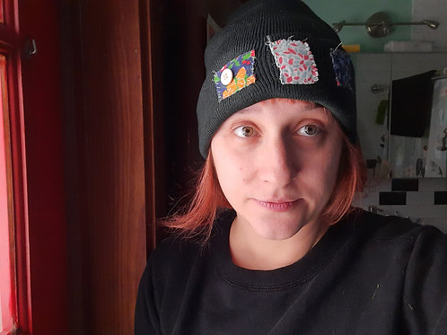 Floral Patch Beanie
