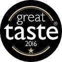 Great Taste Award 2016