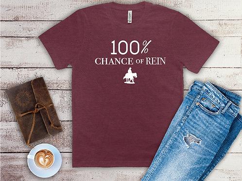 100% Chance of Rein T-Shirt