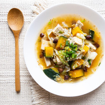 Winter Squash in Aromatic Soy Broth: Another No Food Waste Recipe (Vegan)