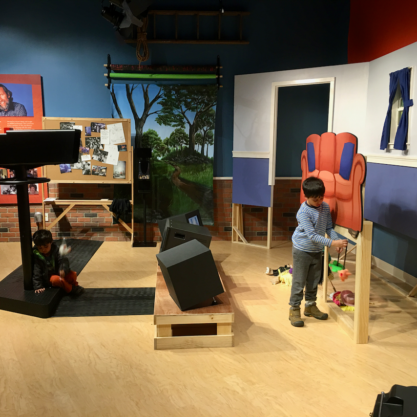 TV set for puppet show