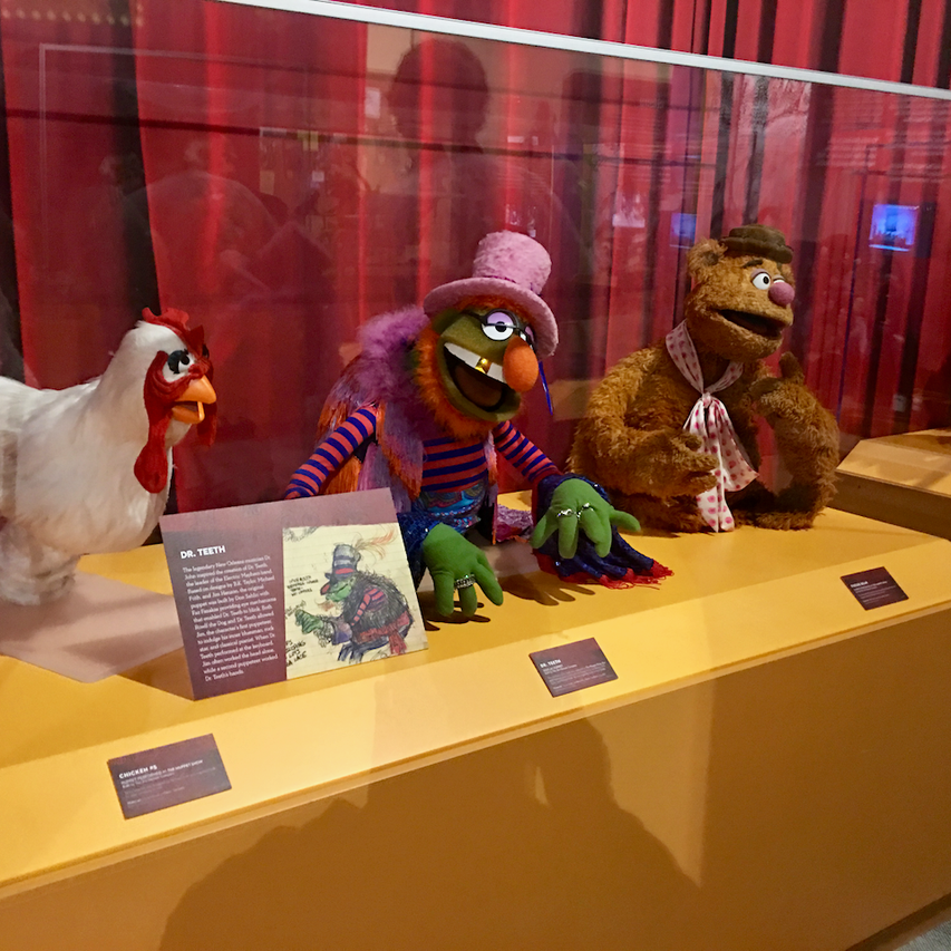 Camilla the Chicken, Dr. Teeth, and Fozzie Bear