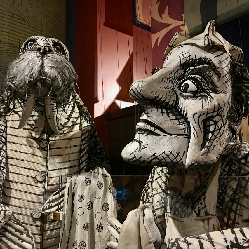 Giant puppets