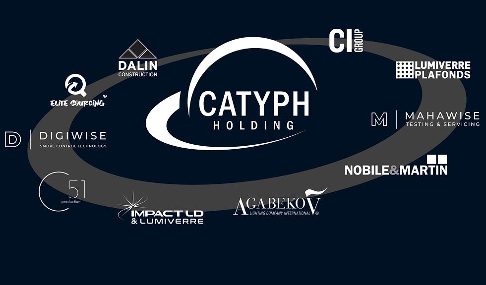 Le groupe Catyph se compose de 10 sociétés actives dans la rénovation et construction à Genève