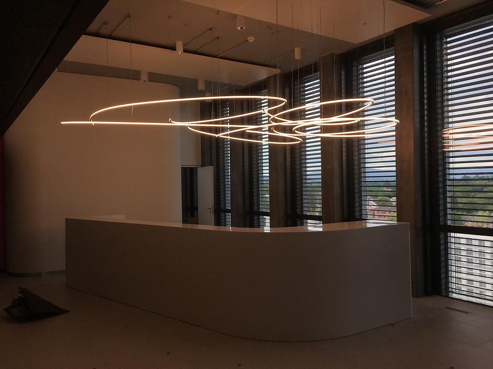 fabrication de solution éclairage sur-mesure à Genève