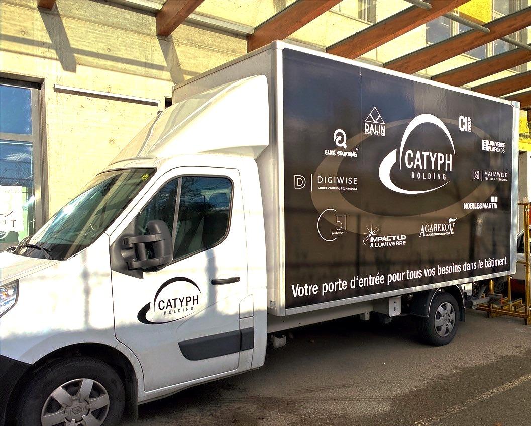 Catyph holding regroupe des sociétés spécialisées dans un secteur du bâtiment - Construction et réno