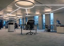 Les bureaux de PowerData, un projet d'Impact LD & Lumiverre - une société membre du groupe Catyph