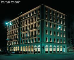éclairage de la banque Julius Bär avec Agabekov Lighting - une société membre du groupe Catyph