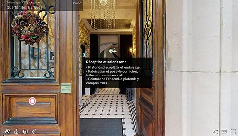 Visite virtuelle de Quartier des Banques
