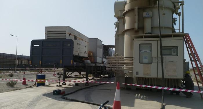 MV Transformer Oil Filtration at QIPP - With NOMAC