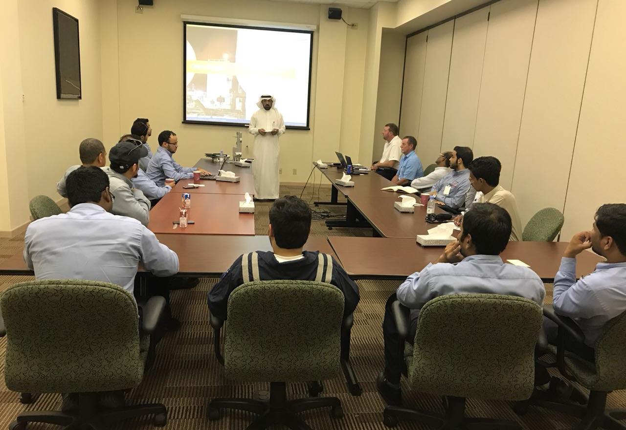 Cold-Box workshop for SABIC employees
