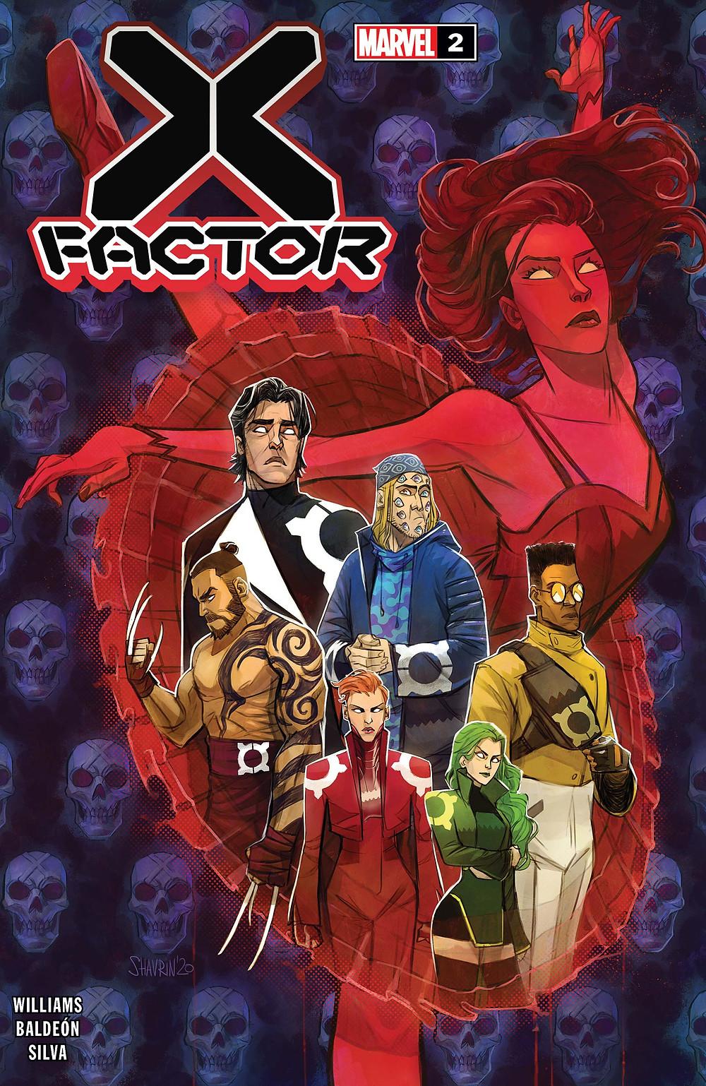 X-Factor reunida na imagem, com: Estrela Polar, Rachel Grey, Polaris, Prodígio