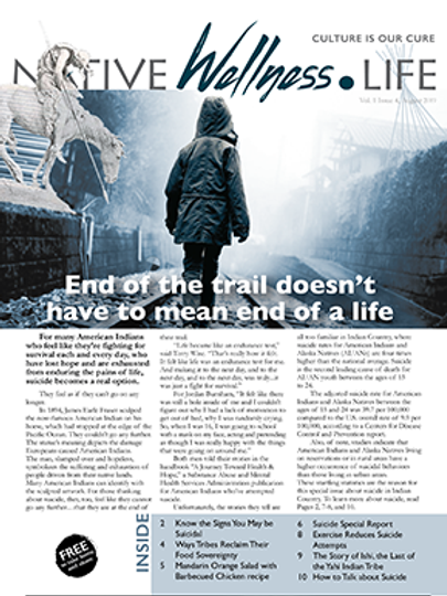 Suicide Special Report August 2019