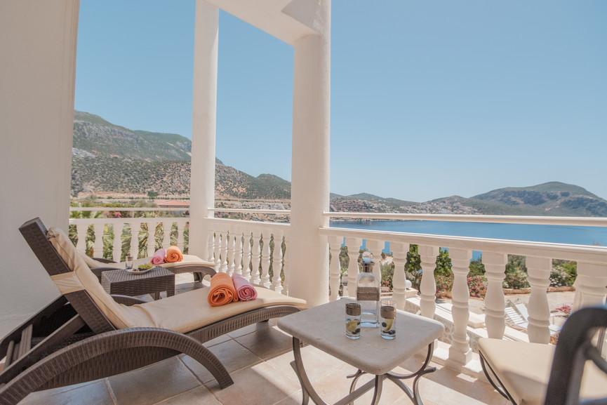 Villa Alev - Master Suite Terrace - Kalkana - Kalkan(1).jpg