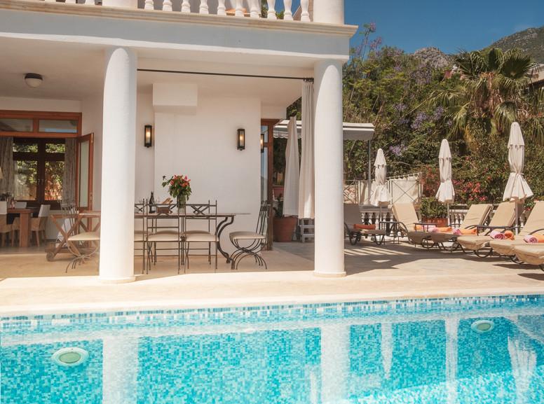 Villa Alev - Pool - Dining - Kalkana - Kalkan.jpg