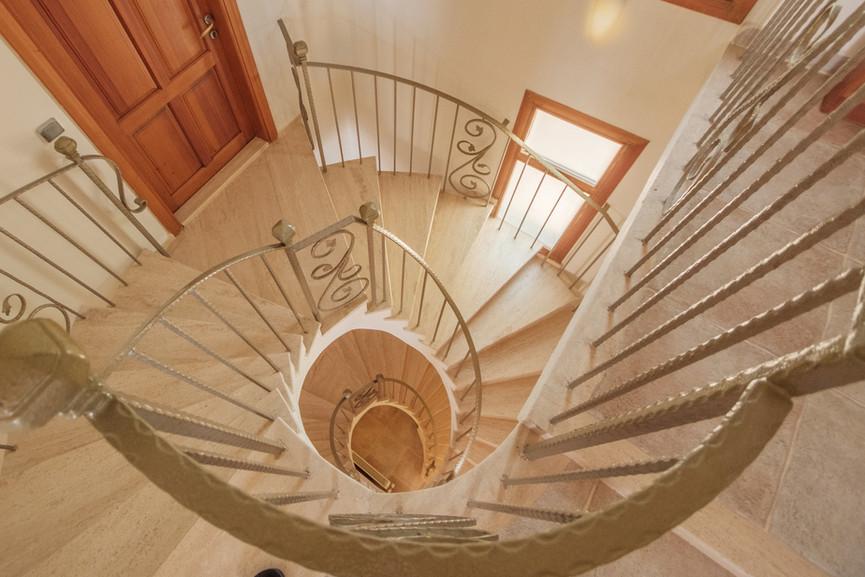 Villa Alev - Spiral Staircase - Kalkana - Kalkan.jpg