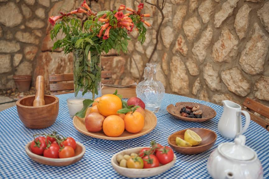 Villa ilayda - Courtyard Private Garden - Fresh Local Produce -Kalkana - Kalkan.jpg
