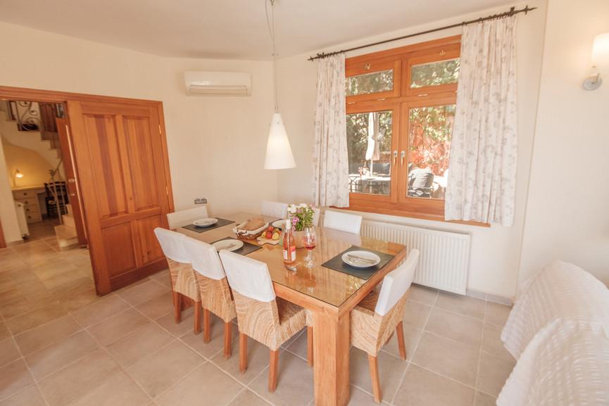 Villa Alev - Open plan - Dining - Sitting Room - Kalkana - Kalkan(3).jpg