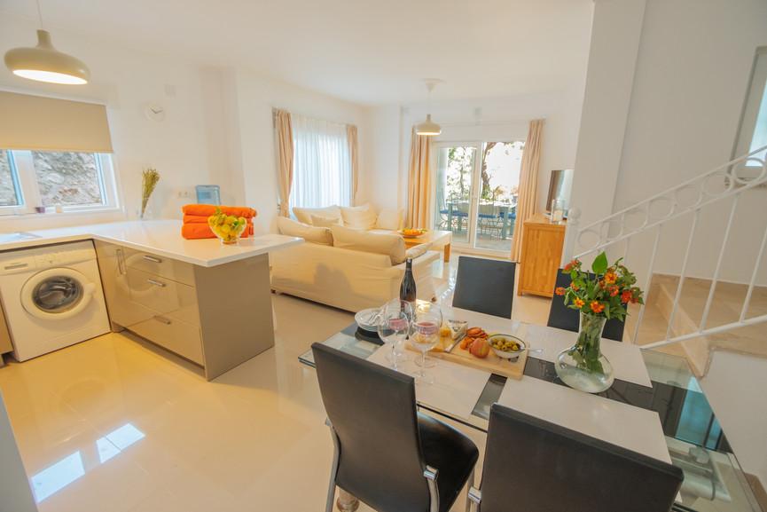 Sunset 1 - Open Plan - Kitchen - Sitting Room - Dining - Kalkana - Kalkan(2).jpg
