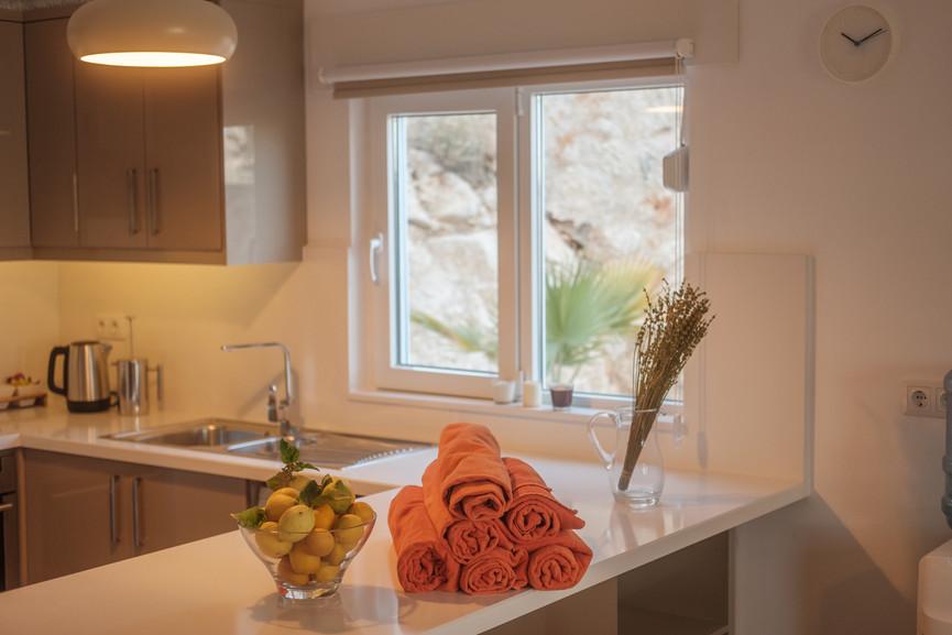 Sunset 1 - Open plan - Kitchen - Sitting Room - Dining -  Kalkana - Kalkan.jpg