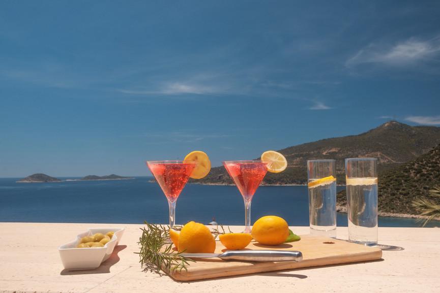 Villa Kalan - Roof Terrace - Perfect Sundowners - Kalkana - Kalkan.jpg
