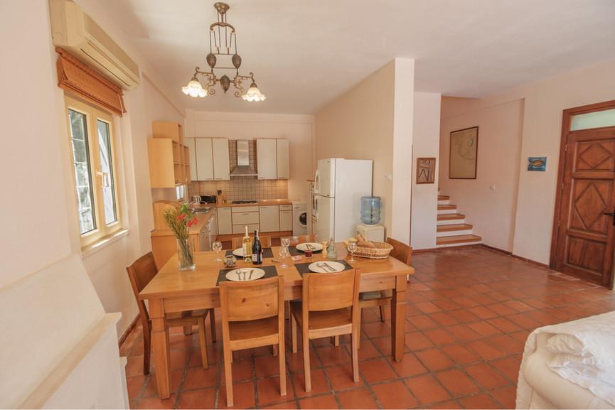 Villa ilayda - Open Plan Kitchen - Diner - Sitting - Kalkana - Kalkan(2).jpg