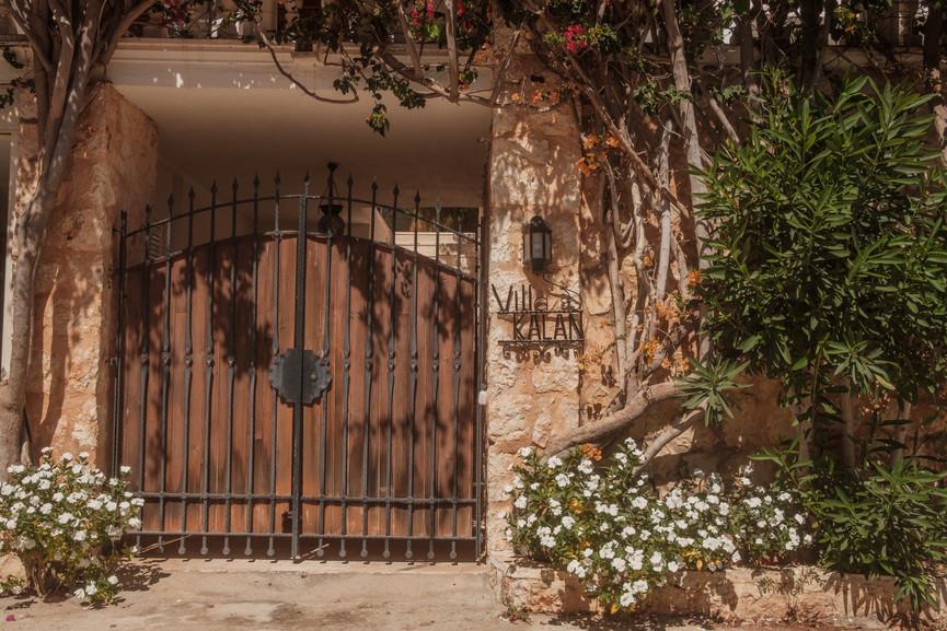 Villa Kalan - Entrance Gate - Kalkana - Kalkan.jpg