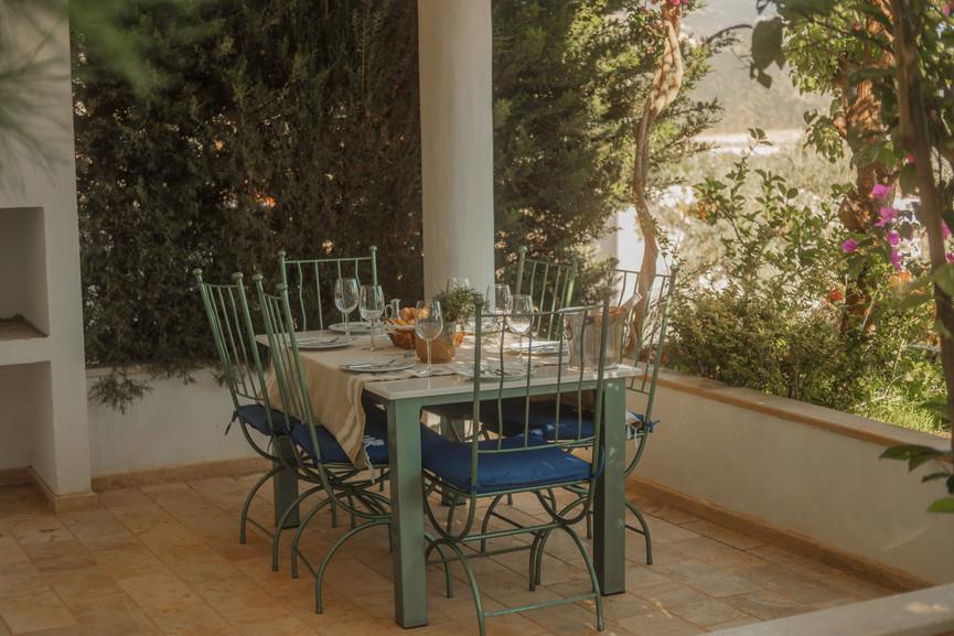 Sunset 1 - Outside Dining Terrace - Kalkana - Kalkan(1).jpg