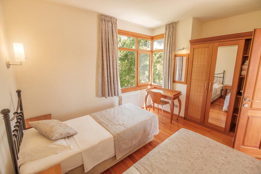Villa Alev - Twin Bedroom Side - Kalkana - Kalkan.jpg