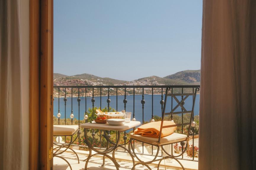 Villa Alev - Ensuite King Bedroom Balcony - Kalkana - Kalkan.jpg