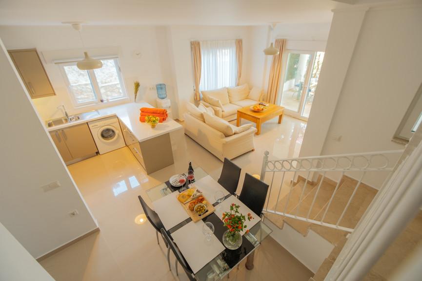 Sunset 1 - Open Plan - Kitchen - Sitting Room - Dining - Kalkana - Kalkan(5).jpg