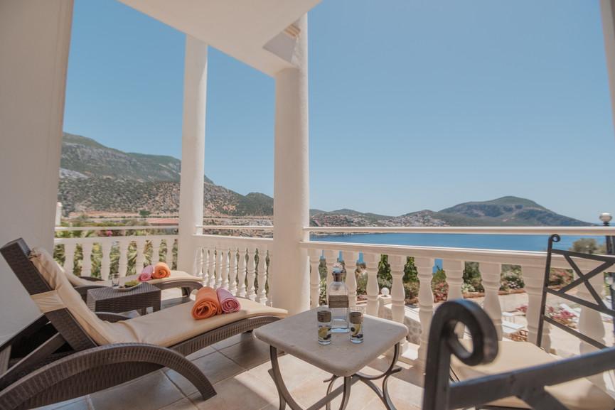 Villa Alev - Master Suite Terrace - Kalkana - Kalkan.jpg