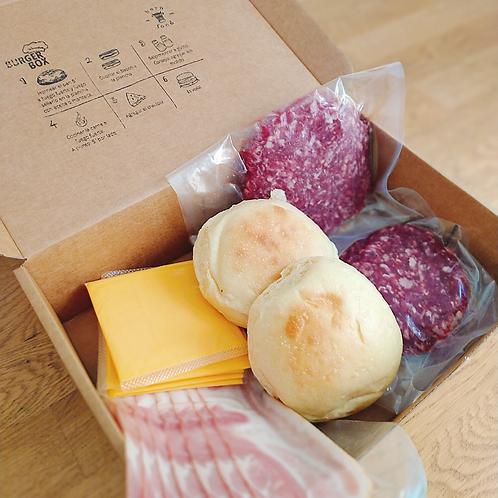 Burger Box - Kit de 2 hamburguesas dobles-Cheese
