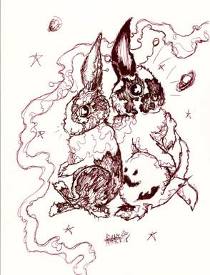 """""""Space Buns"""""""