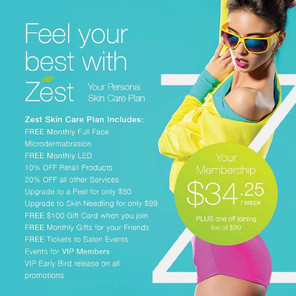 Join Zest Membership and Start Saving