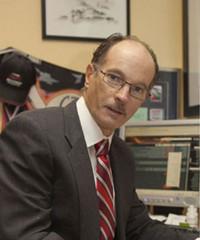 Bariatric surgeon Stephen Wilkinson at T