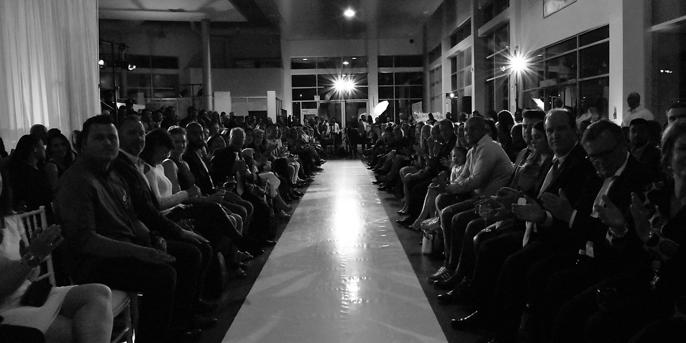 Black and White Fashion Show