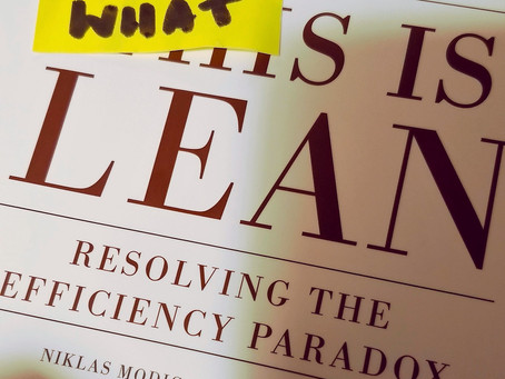"""Czym jest lean – kilka słów inspiracji z """"This is Lean"""""""