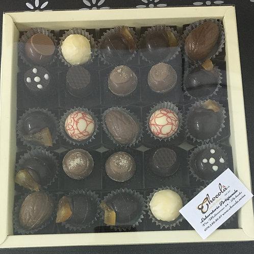 Confezione da 25 Truffes e cioccolatini