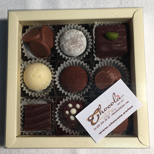 Confezione cioccolatini/truffes misti