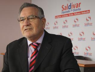 Diputado Saldívar denunció desaparición de estructura utilizada por pescadores y mariscadores de Los