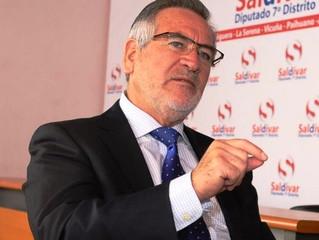 10 días de huelga legal: Diputado Saldívar respalda movilización de trabajadores afiliados al Sindic