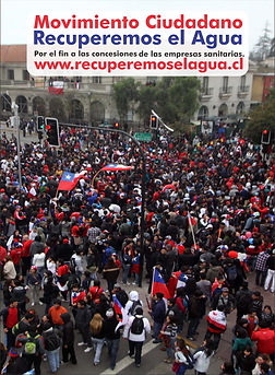 Movimiento Ciudadano www.recupereoselagua.cl