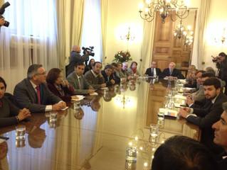 Diputados Raúl Saldívar y Luis Lemus solicitaron al Gobierno comprar las deudas de los pequeños y me