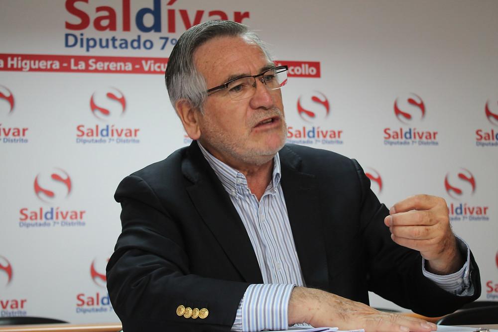Diputado Raúl Saldívar de la Región de Coquimbo