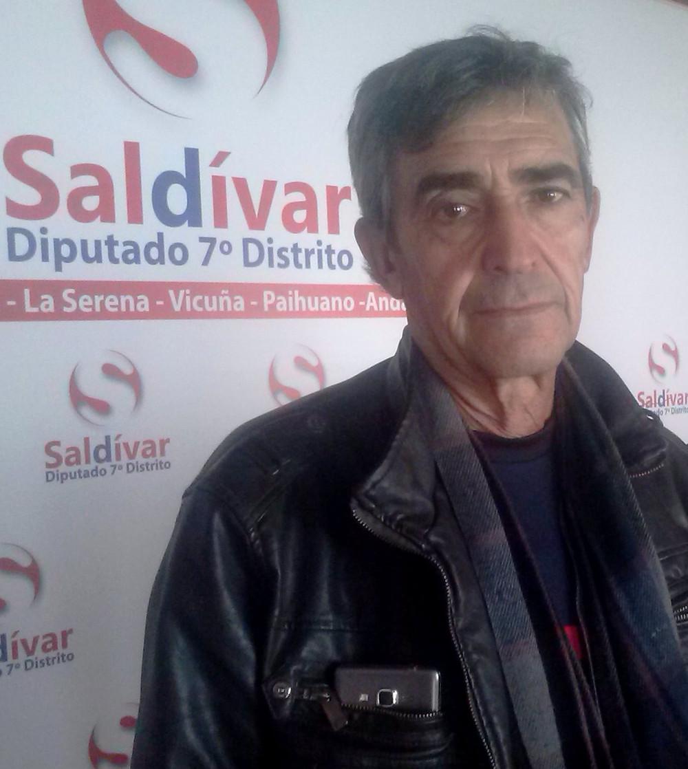 Aliro Zarricueta, Secretario del Gremio de Pescadores de Los Choros.jpg